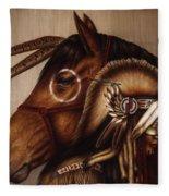 Symbionts Fleece Blanket
