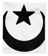 Symbol Islam Fleece Blanket