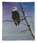 Symbol Of Freedom Fleece Blanket