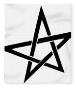 Symbol Pentacle Fleece Blanket