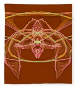 Symmetry Art 2 Fleece Blanket