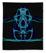 Symmetry Art 3 Fleece Blanket