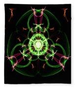 Symmetry Art 5 Fleece Blanket