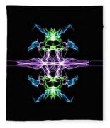 Symmetry Art 7 Fleece Blanket