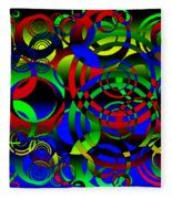 Synchronicity 1 Fleece Blanket