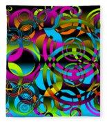 Synchronicity 3 Fleece Blanket