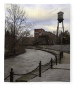 Syracuse Creekwalk Fleece Blanket
