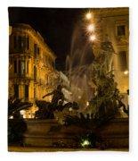 Syracuse - Diana Fountain  Fleece Blanket
