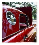 Vintage Car - Opera Window T-bird - Luther Fine Art Fleece Blanket