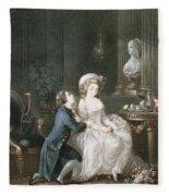 T.2342 Lamant Ecoute, 1775 Fleece Blanket
