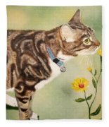 Tabby Fleece Blanket