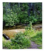 Tacoma Creek 1 Fleece Blanket