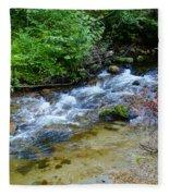 Tacoma Creek 2 Fleece Blanket