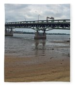 Tacony Palmyra Bridge Fleece Blanket