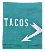 Tacos Fleece Blanket