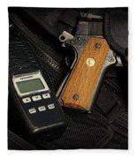 Tactical Gear - Gun  Fleece Blanket
