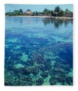 Tahiti Papeete Fleece Blanket
