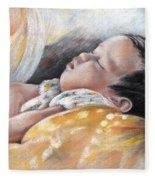 Tahitian Baby Fleece Blanket