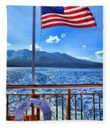 Tahoe Queen Lake Tahoe By Diana Sainz Fleece Blanket