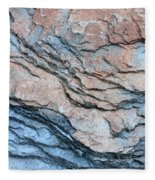 Tahoe Rock Formation Fleece Blanket