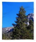 Tahquitz Rock - Lily Rock Fleece Blanket