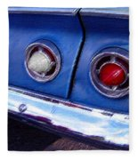 Tail Lights And Fenders Fleece Blanket