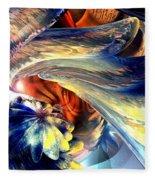 Tailed Beast Abstract Fleece Blanket