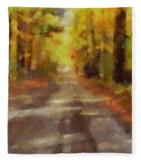 Take Me Home Country Roads Fleece Blanket