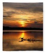 Take Off Forge Pond Fleece Blanket