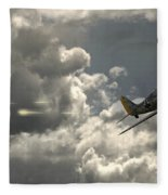 Take The Shot Fleece Blanket