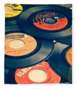 Take Those Old Records Off The Shelf Fleece Blanket