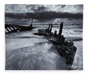Taken By The Sea Fleece Blanket