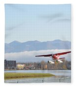 Takeoff 3 Fleece Blanket