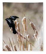Taking Flight Fleece Blanket