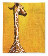 Tall Giraffe Looking Back Painting By Jerome Stumphauzer