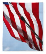 Tall Ship Flag Fleece Blanket