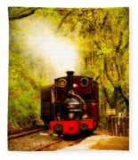 Talyllyn Railway 2 Fleece Blanket