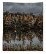 Tamarack Reflections Fleece Blanket