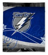 Tampa Bay Lightning Christmas Fleece Blanket