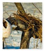 Tangled Driftwood Fleece Blanket