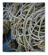 Tangles Of Seaweed 2 Fleece Blanket