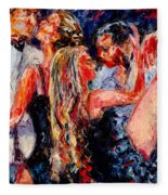Tango Club # 2 Fleece Blanket