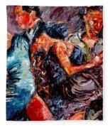 Tango Club # 3 Fleece Blanket