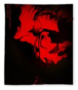 Tango Of Passion For You Fleece Blanket