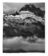 Tantalus Bursting Through The Clouds Fleece Blanket