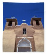 Taos Mission Fleece Blanket
