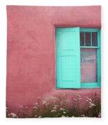 Taos Window I Fleece Blanket