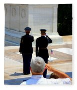 Taps At The Tomb Of The Unknown Fleece Blanket
