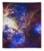 Tarantula Nebula Fleece Blanket