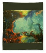 Tarantula Nebulae Fleece Blanket